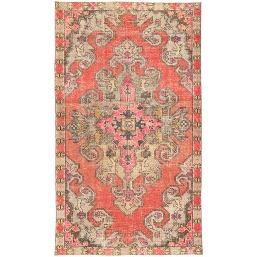 """One of a Kind 4'4"""" x 7'6"""" Rug by 9596 at Becker Furniture"""