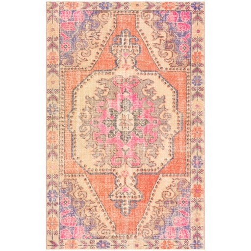 "One of a Kind 4'2"" x 6'8"" Rug by 9596 at Becker Furniture"
