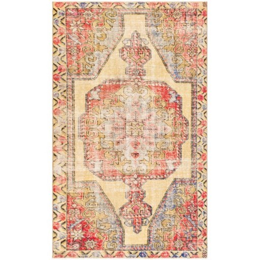 """One of a Kind 4'4"""" x 7'6"""" Rug by Ruby-Gordon Accents at Ruby Gordon Home"""
