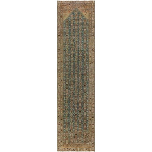"""One of a Kind 3' x 11'9"""" Rug by 9596 at Becker Furniture"""