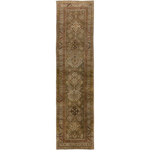 """One of a Kind 3'5"""" x 13'3"""" Rug by Ruby-Gordon Accents at Ruby Gordon Home"""