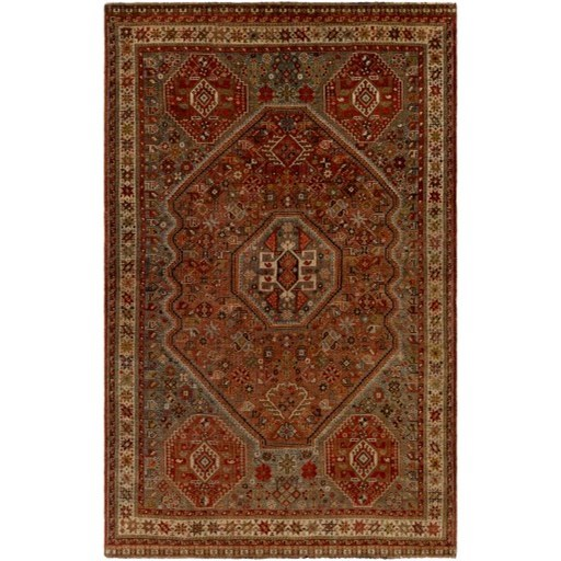 """One of a Kind 5'6"""" x 8'7"""" Rug by Ruby-Gordon Accents at Ruby Gordon Home"""