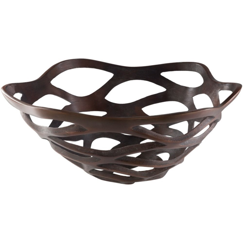 Oriana Metal Bowl by Surya at SuperStore