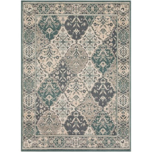 "Oslo 5'3"" x 7'3"" Rug by Surya at Corner Furniture"