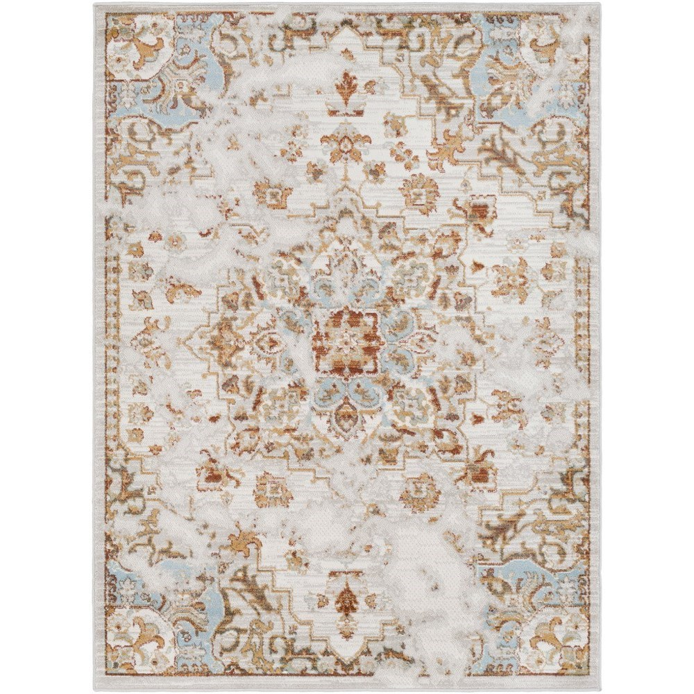 """Oushak 5' 3"""" x 7' 3"""" Rug by Surya at Upper Room Home Furnishings"""