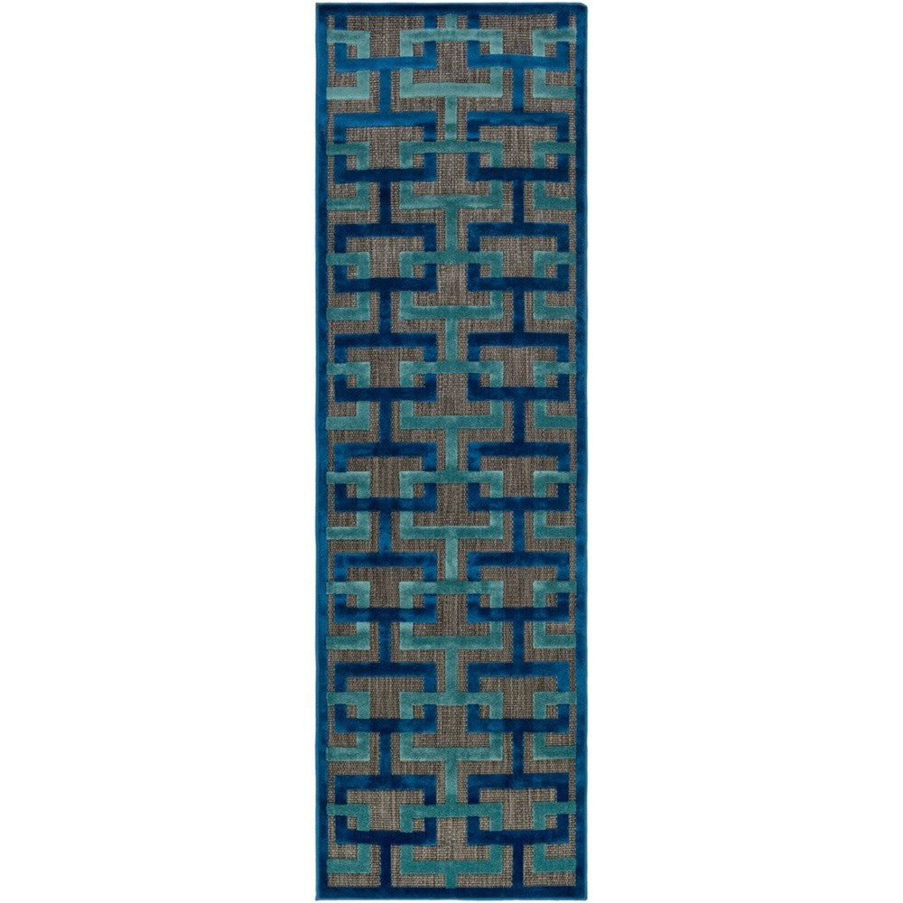"Portera 2'6"" x 7'10"" Runner Rug by Ruby-Gordon Accents at Ruby Gordon Home"