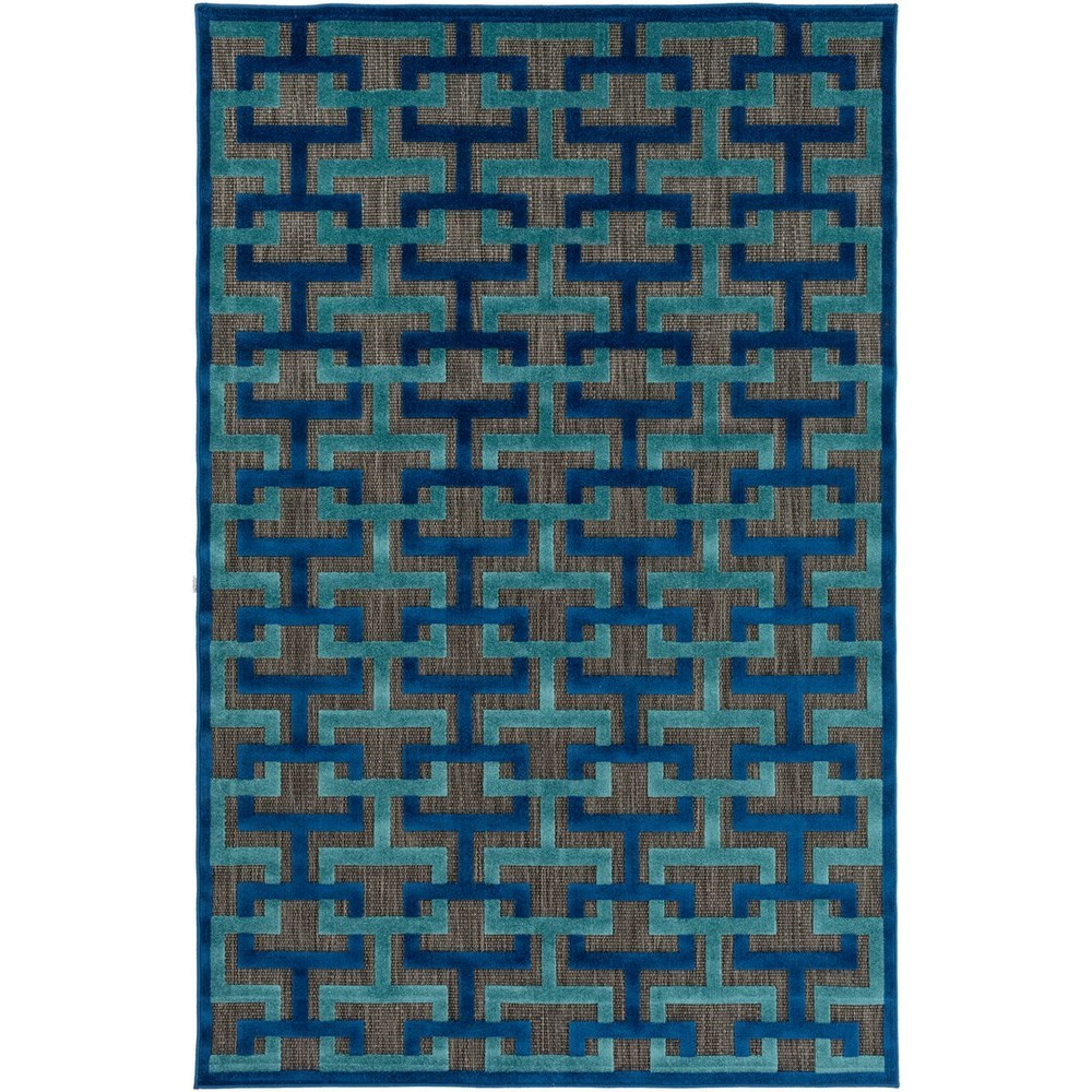 """Portera 4'7"""" x 6'7"""" Rug by 9596 at Becker Furniture"""