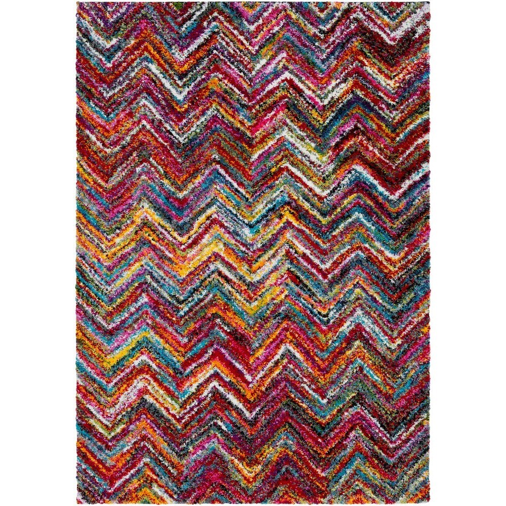 "Rainbow Shag 7' 10"" x 10' 3"" Rug by Surya at Prime Brothers Furniture"