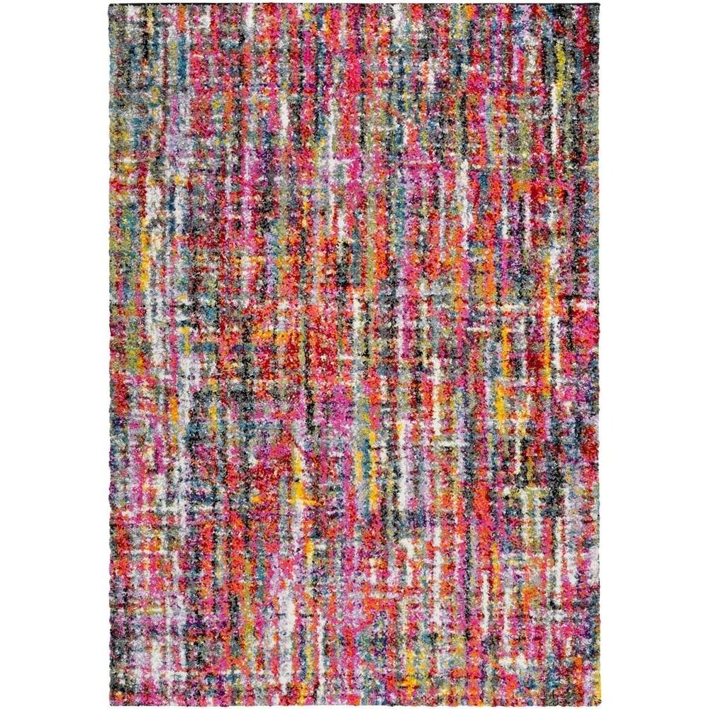 Rainbow Shag 2' x 3' Rug by Ruby-Gordon Accents at Ruby Gordon Home
