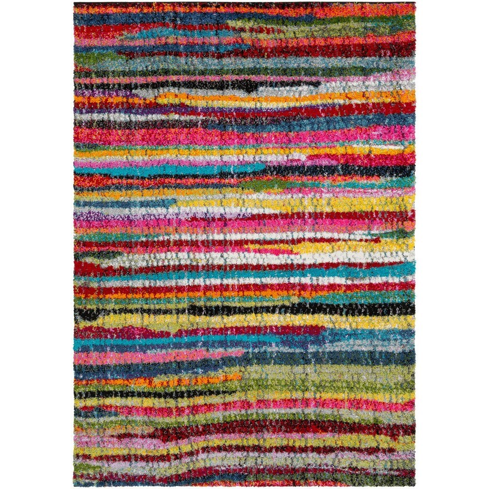 "Rainbow Shag 7' 10"" x 10' 3"" Rug by Surya at Upper Room Home Furnishings"