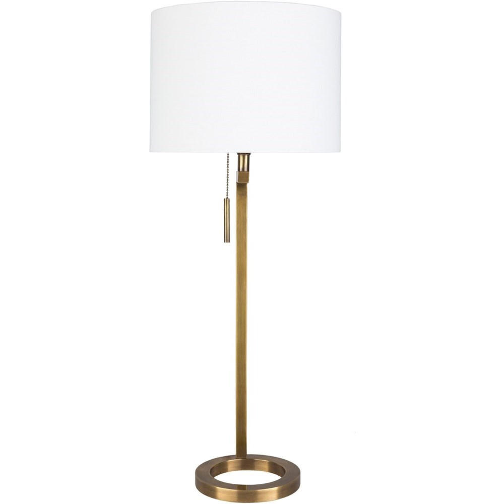 Reese Portable Lamp by Surya at Reid's Furniture