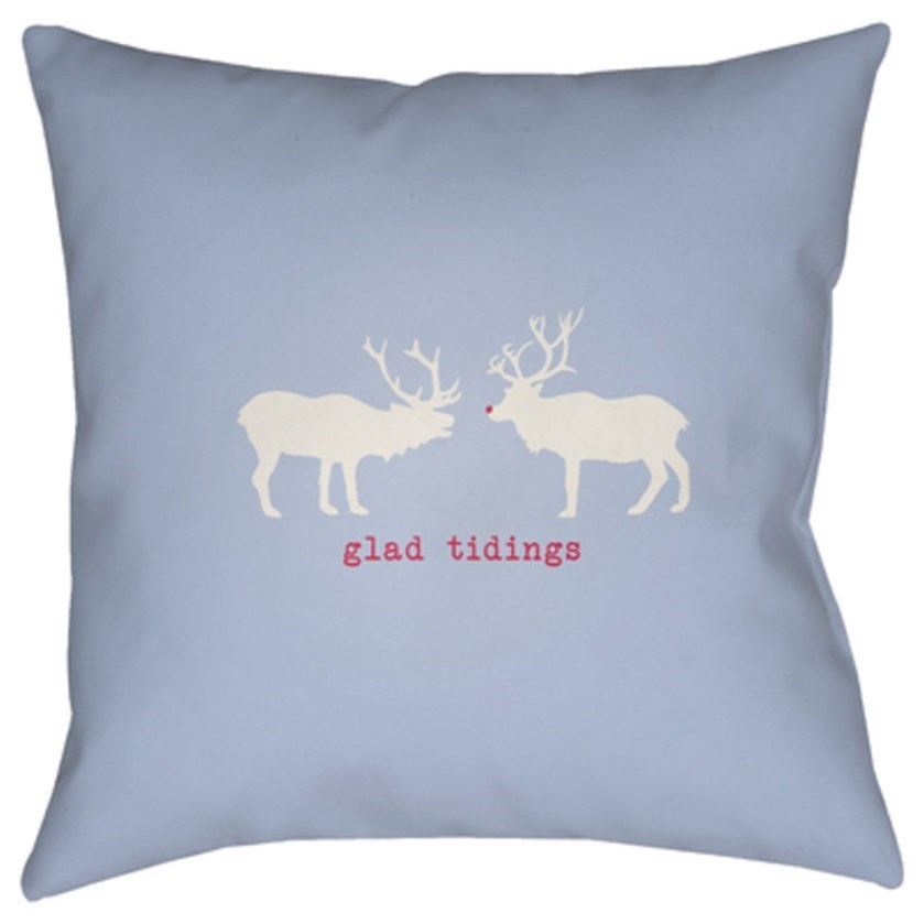 Reindeer Pillow by Ruby-Gordon Accents at Ruby Gordon Home