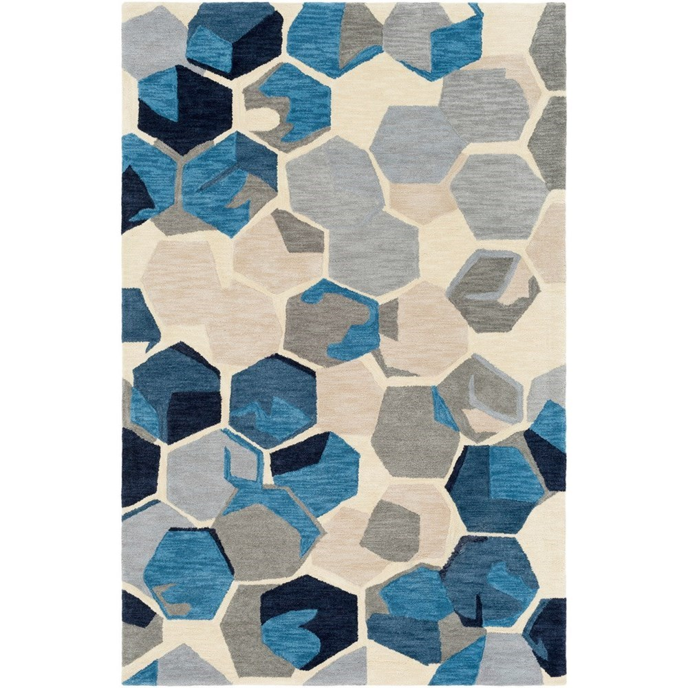"Rivera 5' x 7'6"" Rug by Surya at Del Sol Furniture"