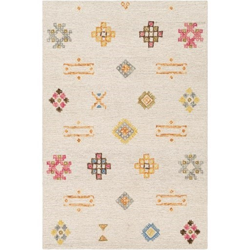 "Sabra 5' x 7'6"" Rug by 9596 at Becker Furniture"