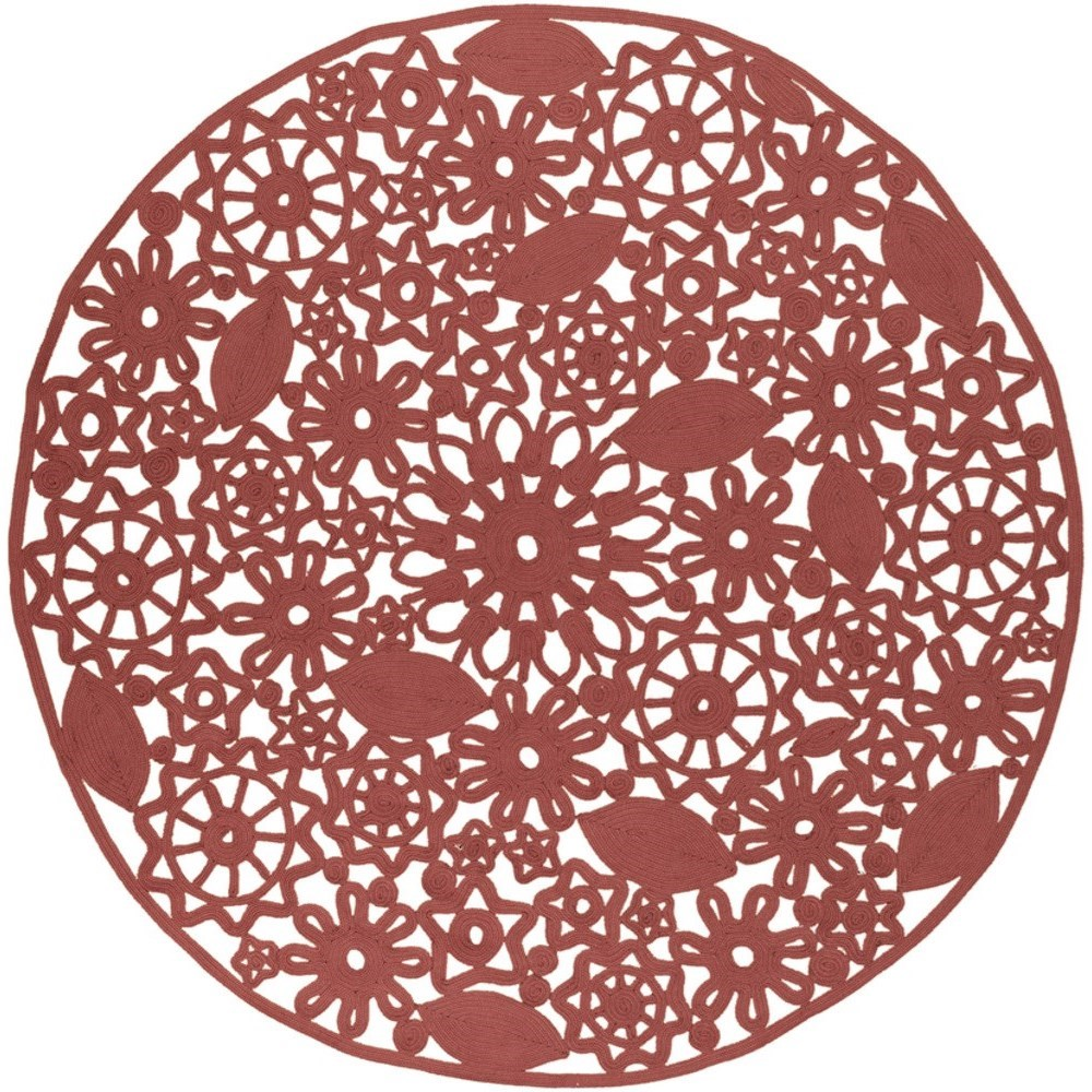 Sanibel 8' Round Rug by Ruby-Gordon Accents at Ruby Gordon Home