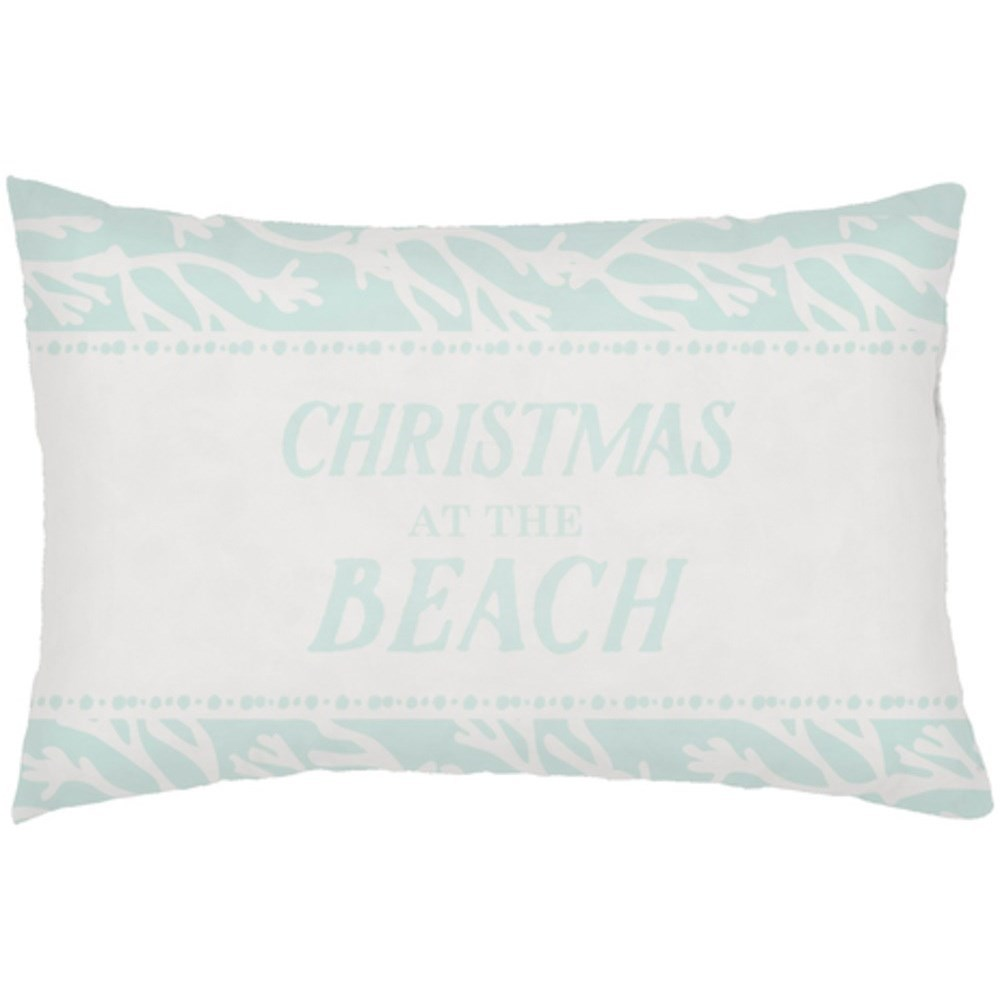 Sea-sons Greetings Pillow by Ruby-Gordon Accents at Ruby Gordon Home