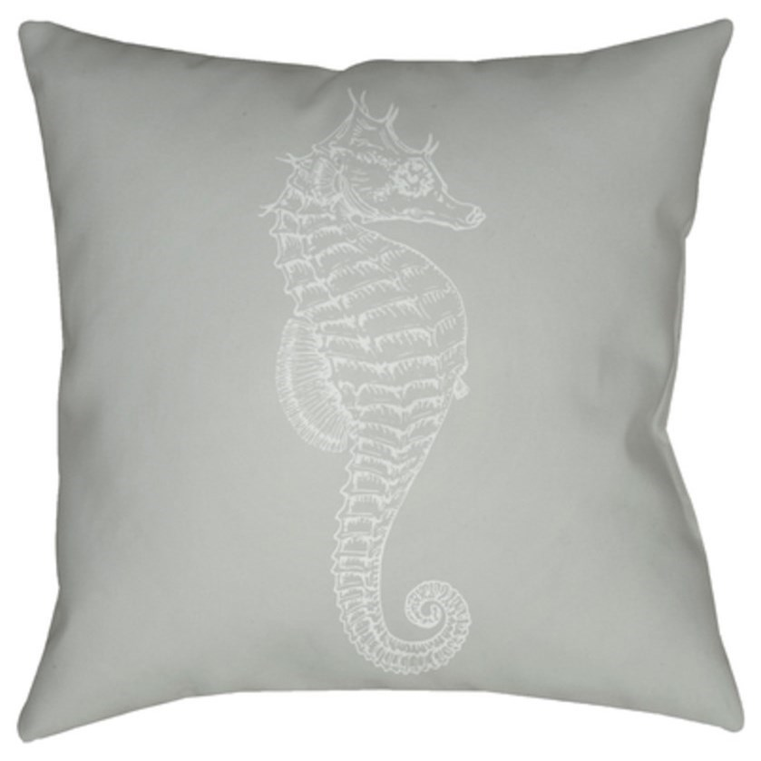 Seahorse Pillow by Ruby-Gordon Accents at Ruby Gordon Home