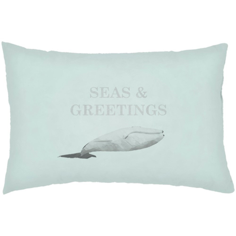 Seas & Greetings Pillow by Ruby-Gordon Accents at Ruby Gordon Home