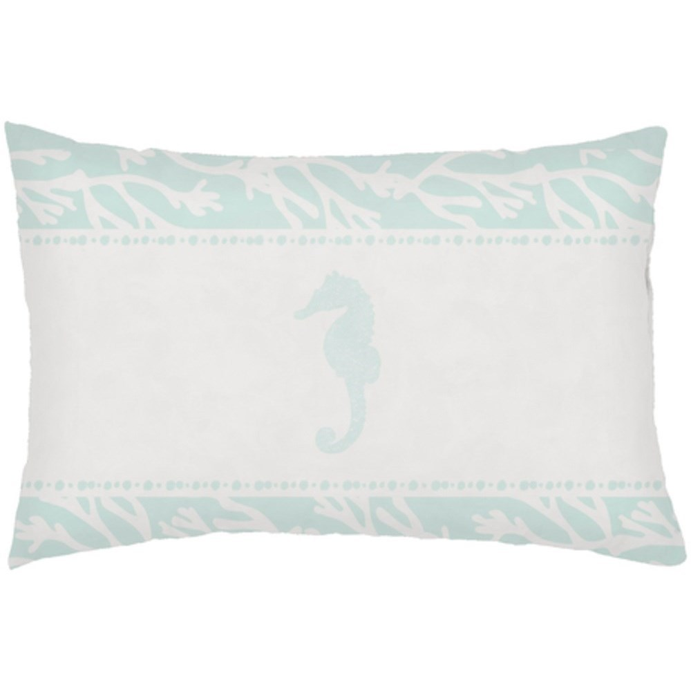 Seasalt & Seahorses Pillow by Ruby-Gordon Accents at Ruby Gordon Home