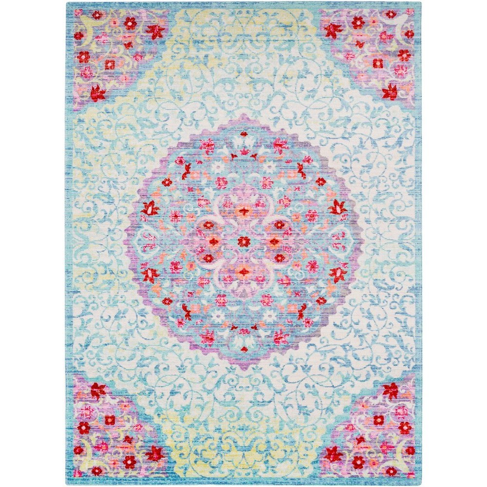 "Seasoned Treasures 3' x 7' 10"" Runner by Surya at Upper Room Home Furnishings"