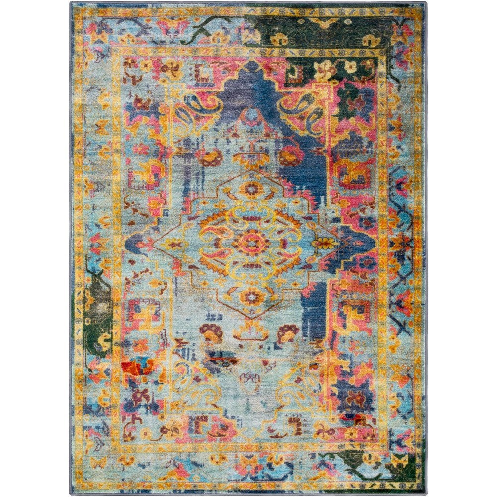 "Silk road 5'3"" x 7'3"" Rug by 9596 at Becker Furniture"