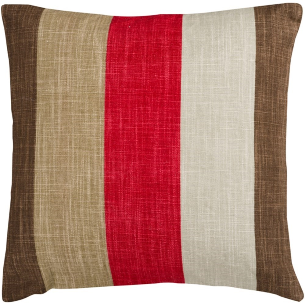 Simple Stripe Pillow by Surya at Prime Brothers Furniture