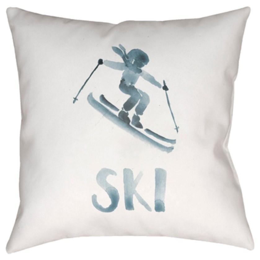 Ski II Pillow by Ruby-Gordon Accents at Ruby Gordon Home