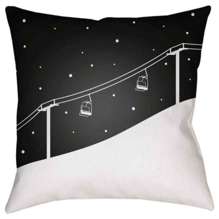 Ski Lift Pillow by Ruby-Gordon Accents at Ruby Gordon Home