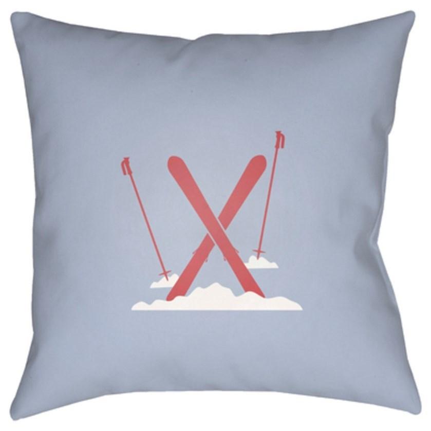 Ski Pillow by Ruby-Gordon Accents at Ruby Gordon Home