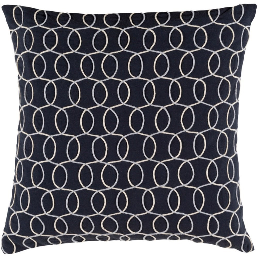Solid Bold II Pillow by Surya at Fashion Furniture