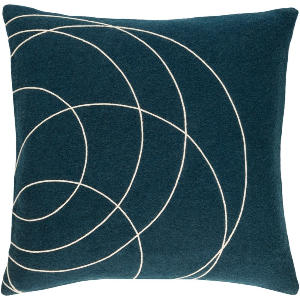 Solid Bold Pillow by Surya at Factory Direct Furniture