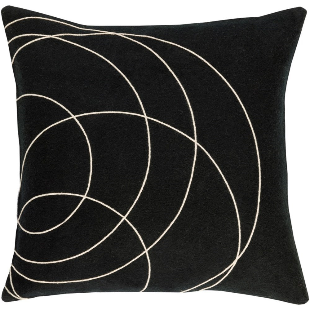 Solid Bold Pillow by Surya at Del Sol Furniture