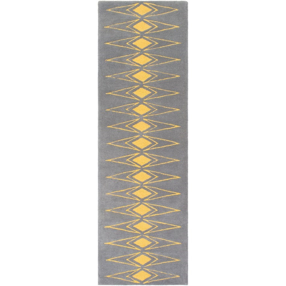 """Solid Bold 2'6"""" x 8' Runner Rug by Ruby-Gordon Accents at Ruby Gordon Home"""