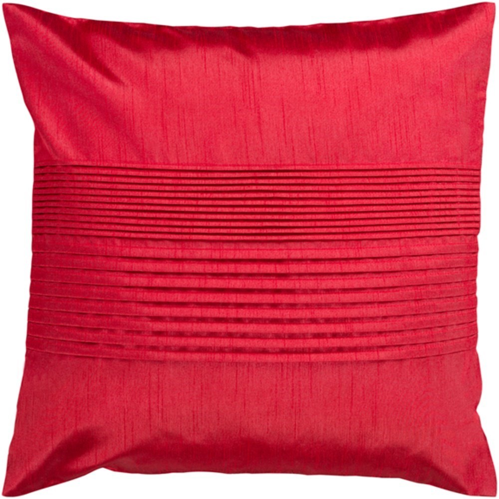 Solid Pleated Pillow by Surya at Suburban Furniture