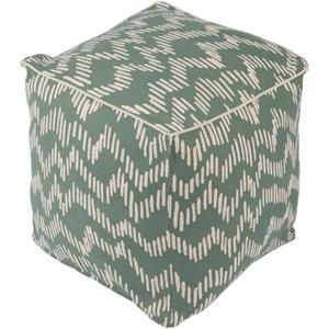 16 x 16 x 18 Cube Pouf