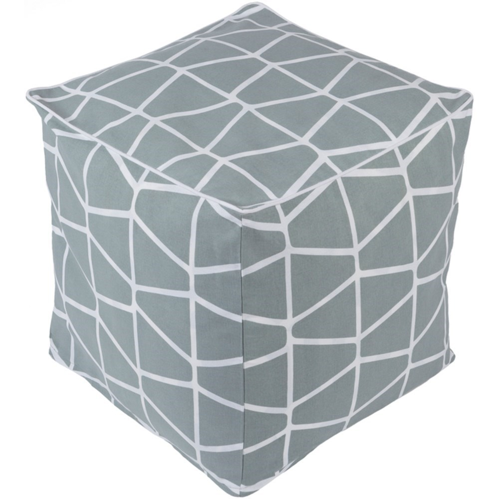Somerset Cube Pouf by Surya at Upper Room Home Furnishings