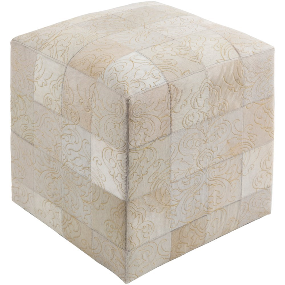 Sophisticate Cube Pouf by 9596 at Becker Furniture