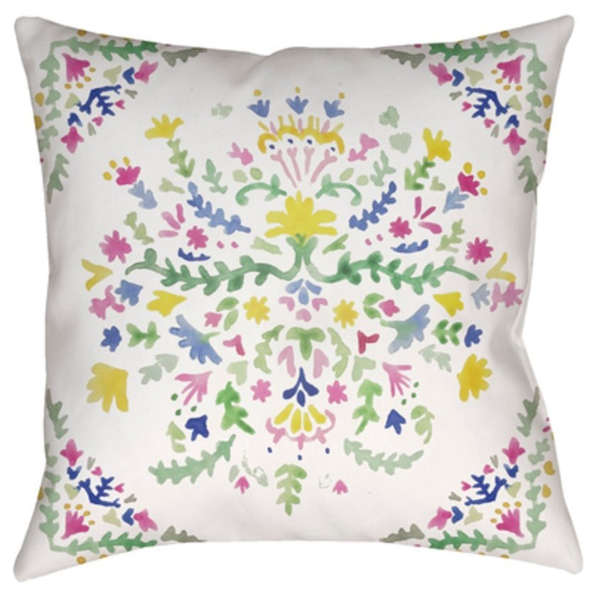 Spanish Patchwork Pillow by Ruby-Gordon Accents at Ruby Gordon Home