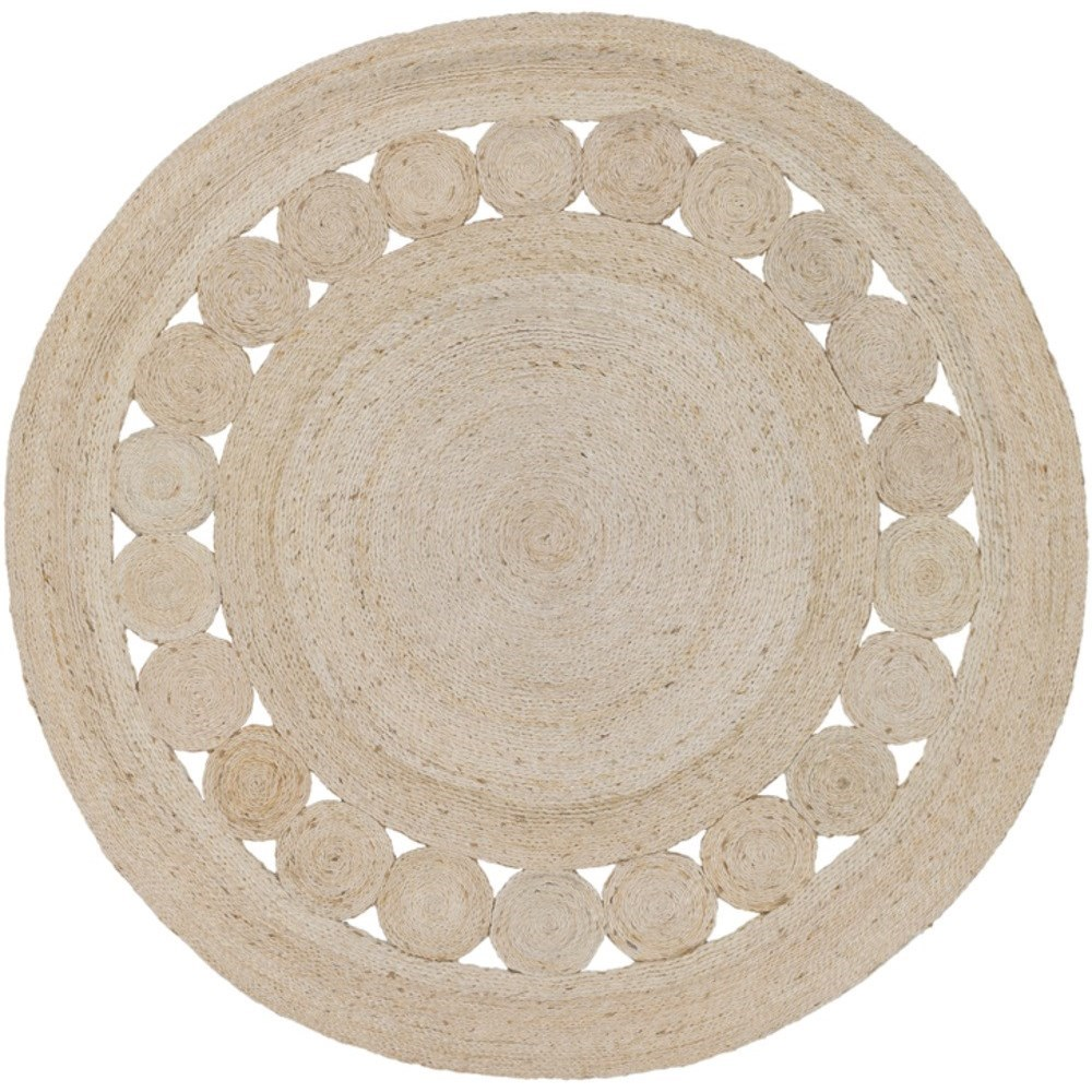 Sundaze 8' Round Rug by Surya at Suburban Furniture