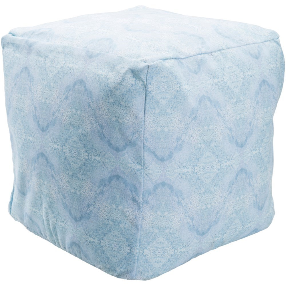 Surya Poufs Cube Pouf by Surya at Upper Room Home Furnishings