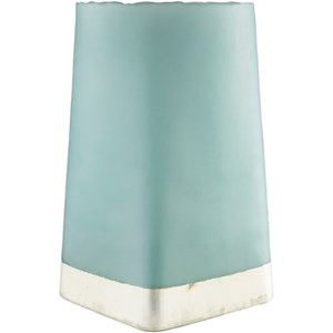 Glass Aqua Vase