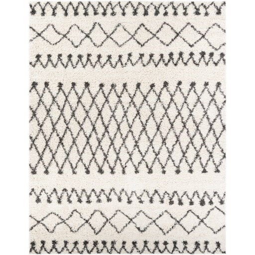 "Taza shag TZS-2316 5'2"" x 7' Rug by Surya at Suburban Furniture"