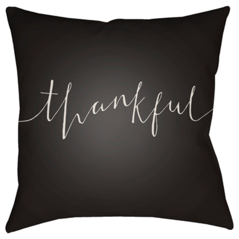 Thankful Pillow by Ruby-Gordon Accents at Ruby Gordon Home