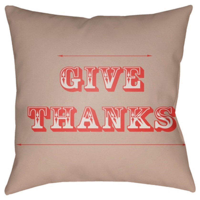 Thanks Pillow by Ruby-Gordon Accents at Ruby Gordon Home