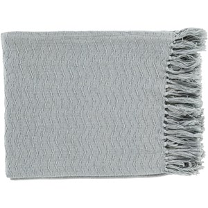 Silver Gray Throw Blanket