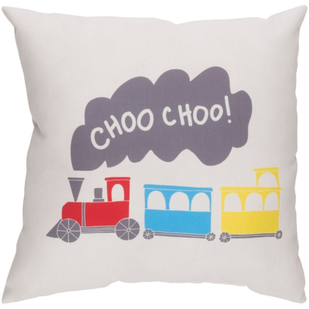 Trains Pillow by Ruby-Gordon Accents at Ruby Gordon Home