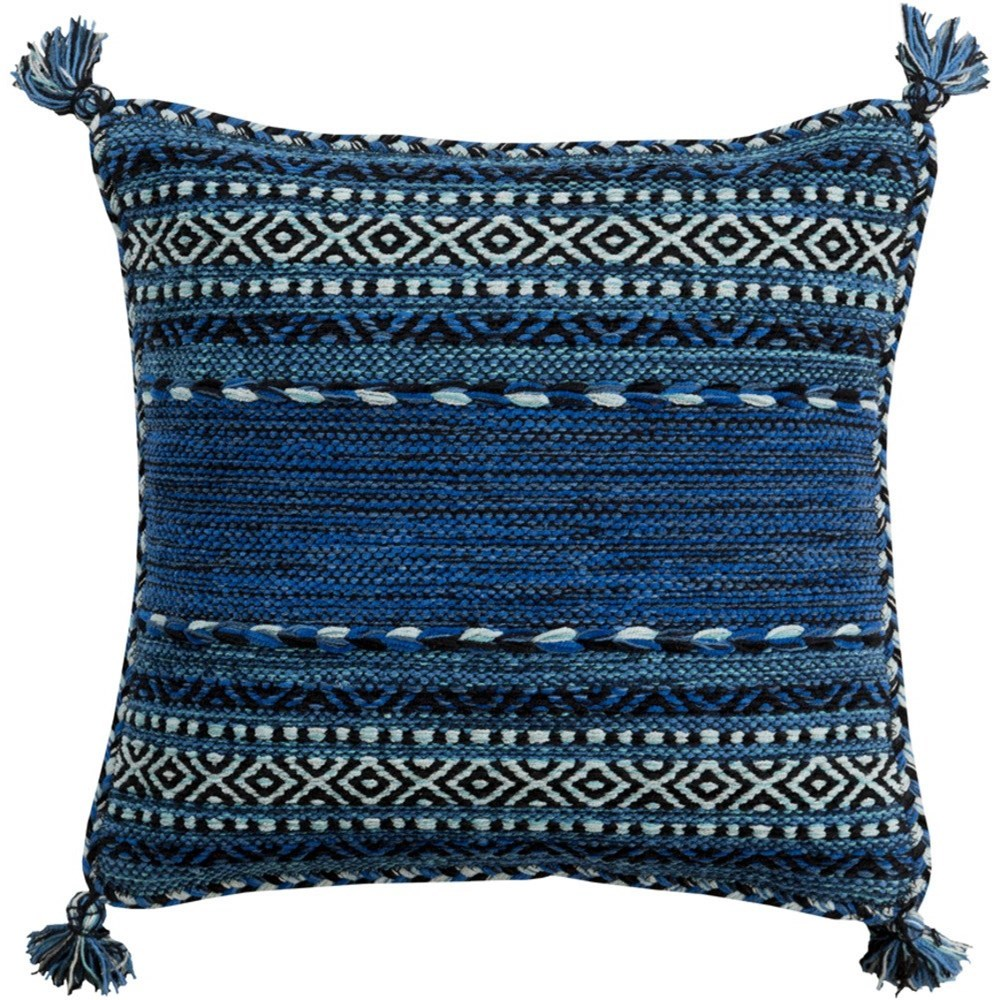 Trenza Pillow by Surya at Del Sol Furniture