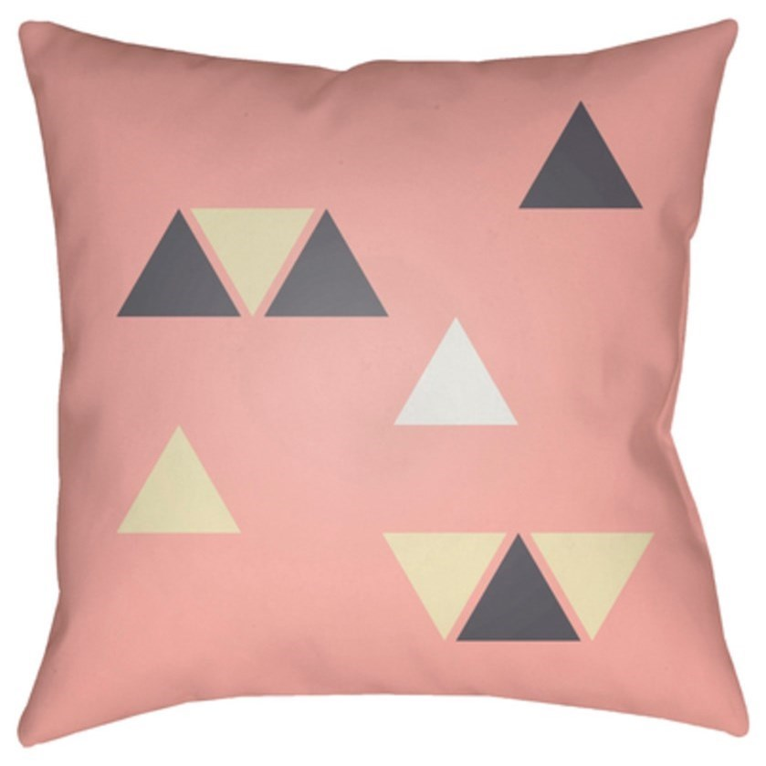 Triangles Pillow by Surya at Belfort Furniture