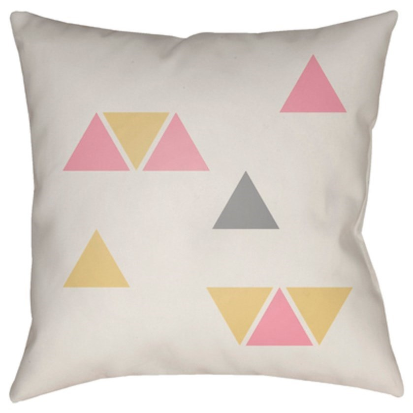 Triangles Pillow by Ruby-Gordon Accents at Ruby Gordon Home