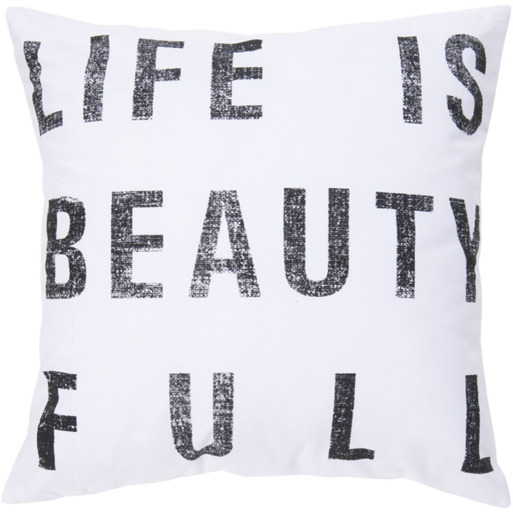 Typography Pillow by Ruby-Gordon Accents at Ruby Gordon Home